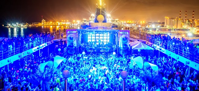 This Is What It's Like To Go On A Music Festival Cruise