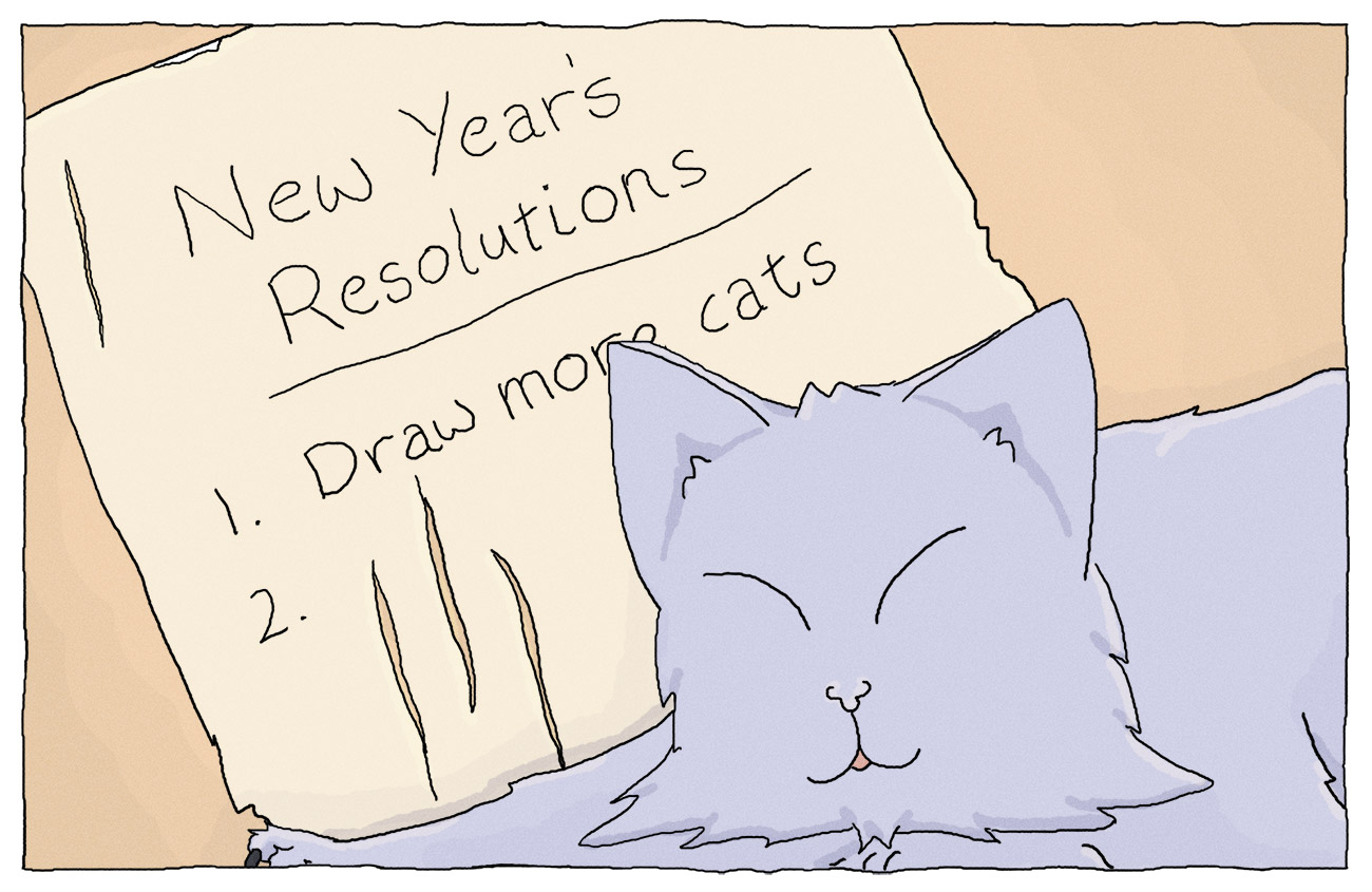 Universe of Home #11: New Year's Resolutions