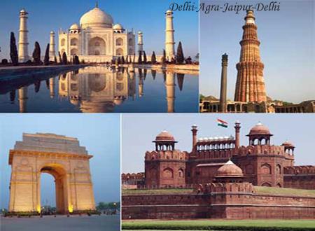 Rajasthan Packages - Delhi-Agra-Jaipur-Delhi