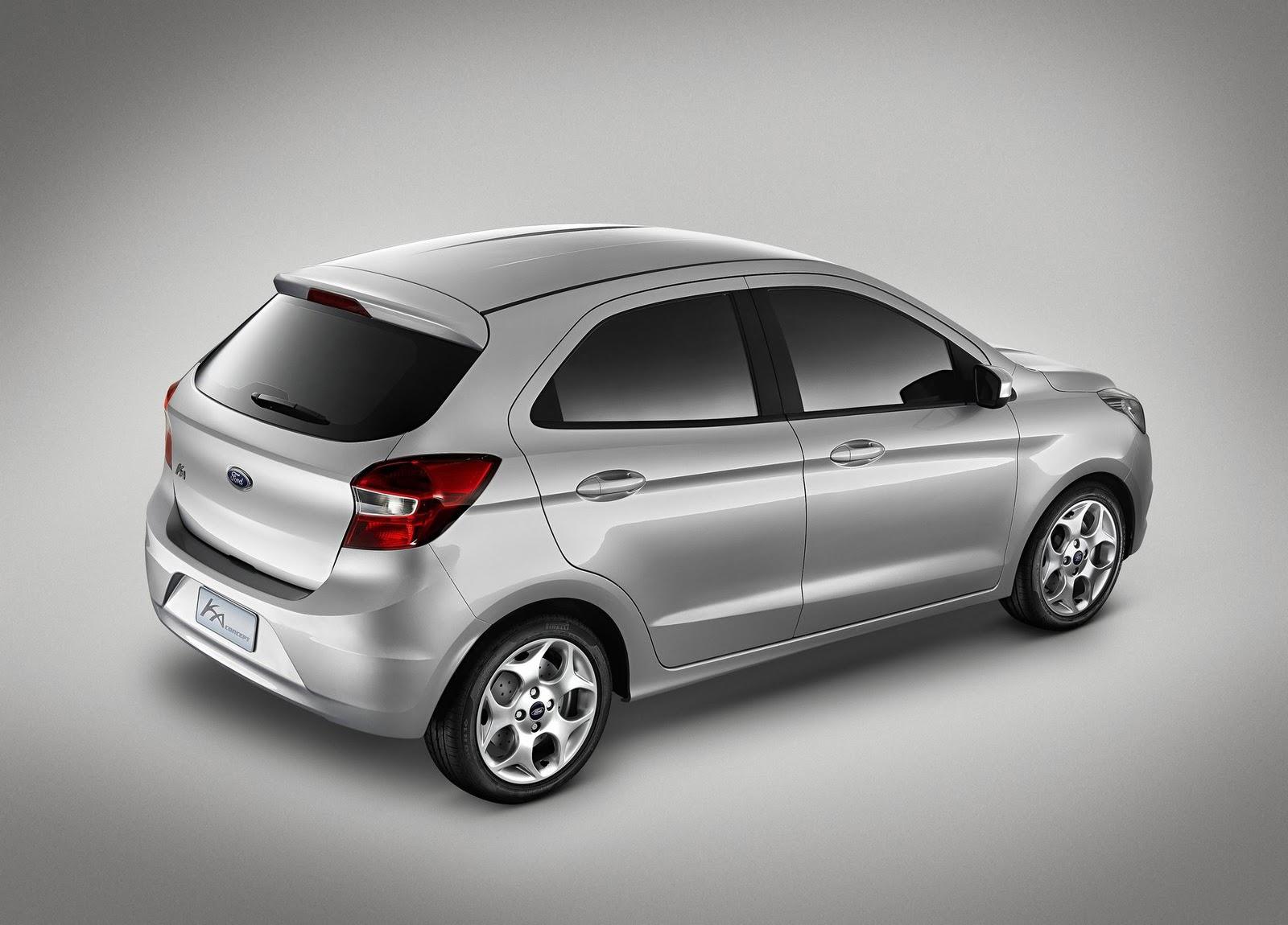 2013+Ford+Ka+Concept+%25282%2529 Napompowany Ford Ka z za wielkiej wody...