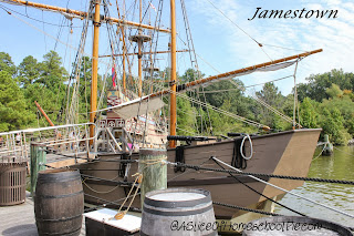 Field Trip to Jamestown, VA