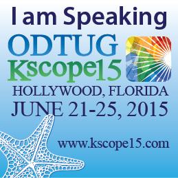 ODTUG Kscope 2015