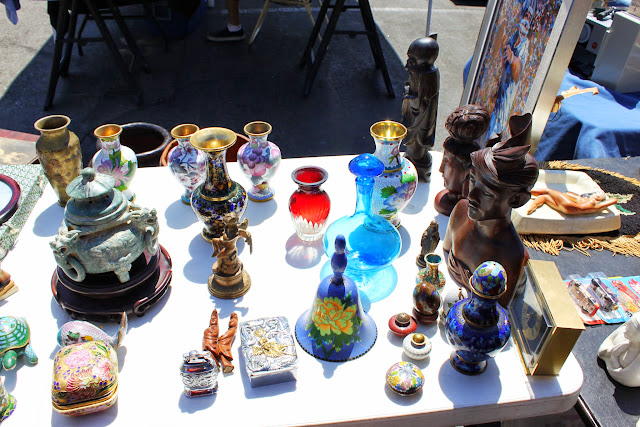 Pasadena Rose Bowl Flea Market - Blenko Glass