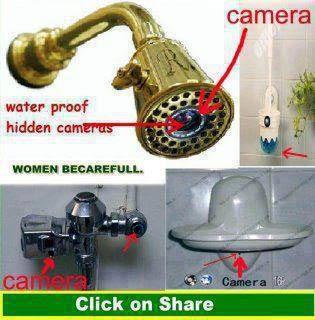 Kamera tersembunyi di toilet