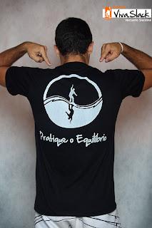 Graphic19 - Coleção Viva Slack - Slackline T-Shirts