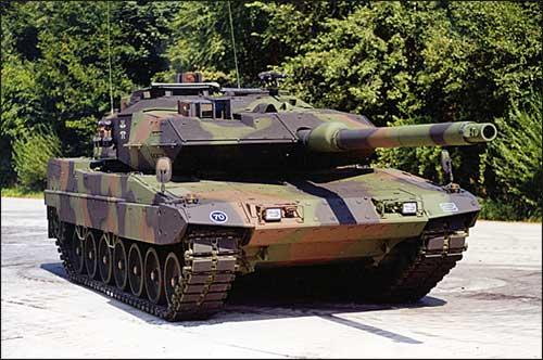 Tank Leopard yang dipesan Indonesia dari Jerman