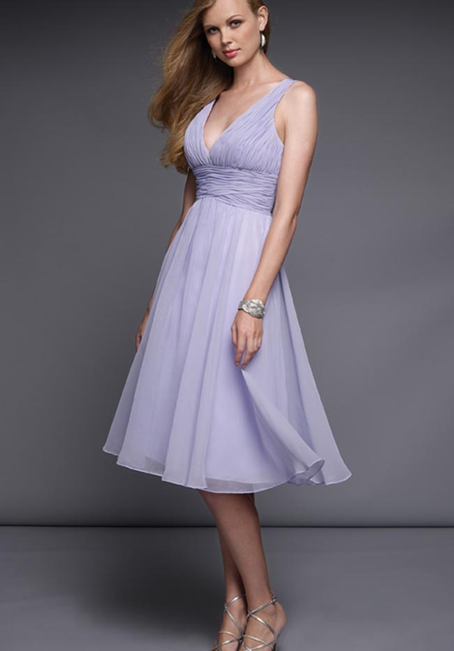 Bridesmaid Dresses In Lavender Mist 111
