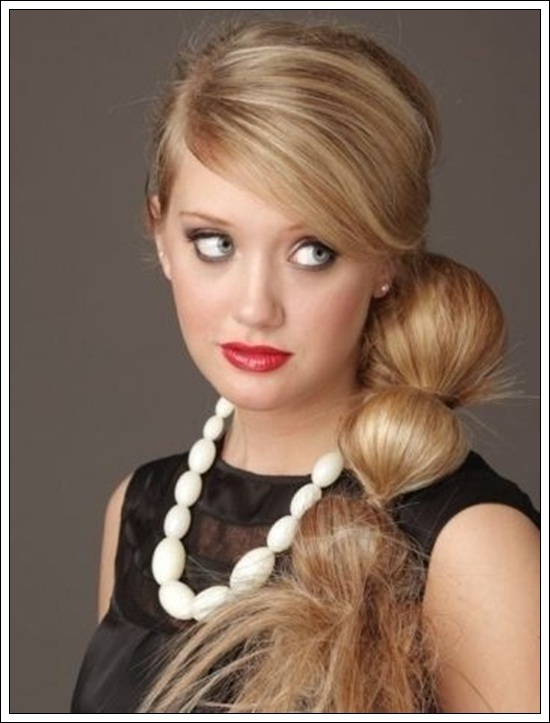 one side ponytail hairstyles side ponytail hairstyles for hairstyle for womens