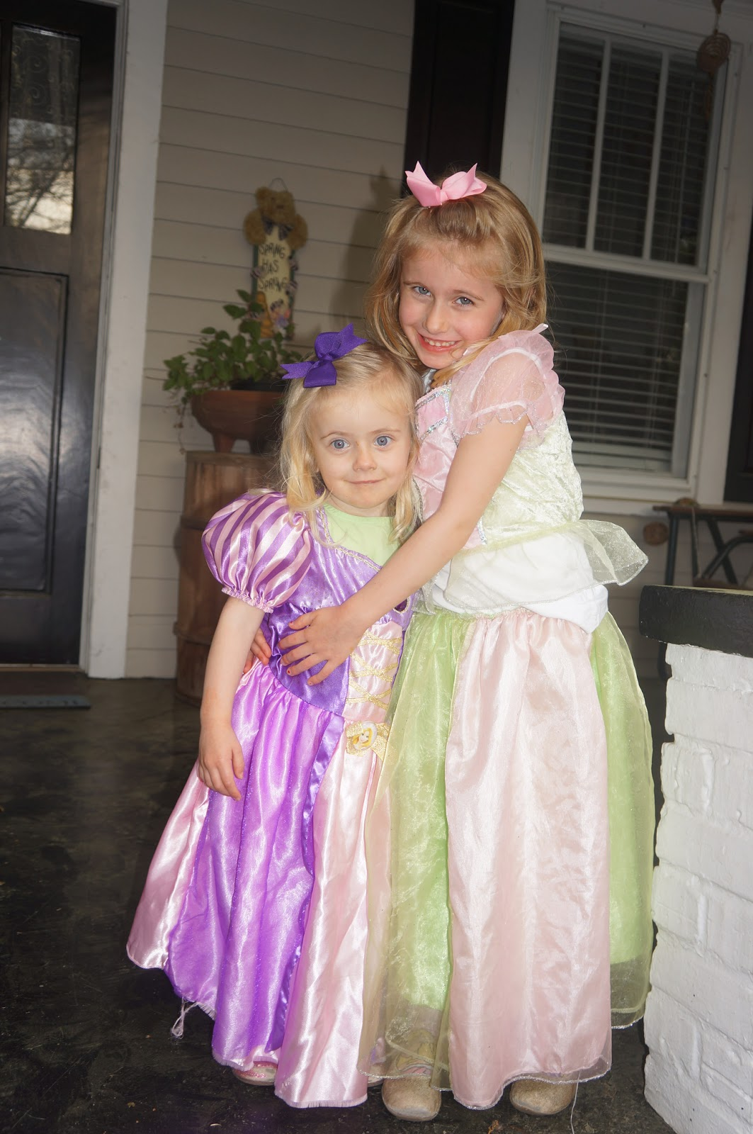 Their Princess Dresses
