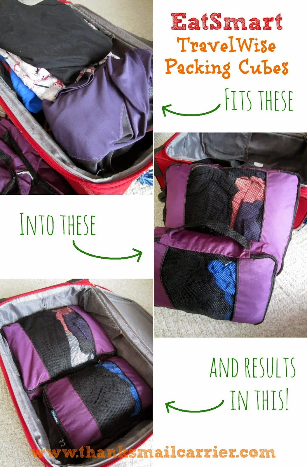 EatSmart TravelWise Packing Cubes review