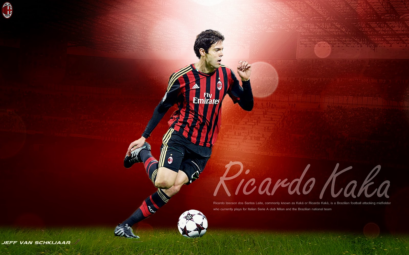 Ricardo Kaká 2014 Wallpaper - Welcome Home Kaka