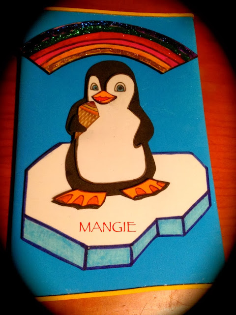 Funda libreta Happy feet