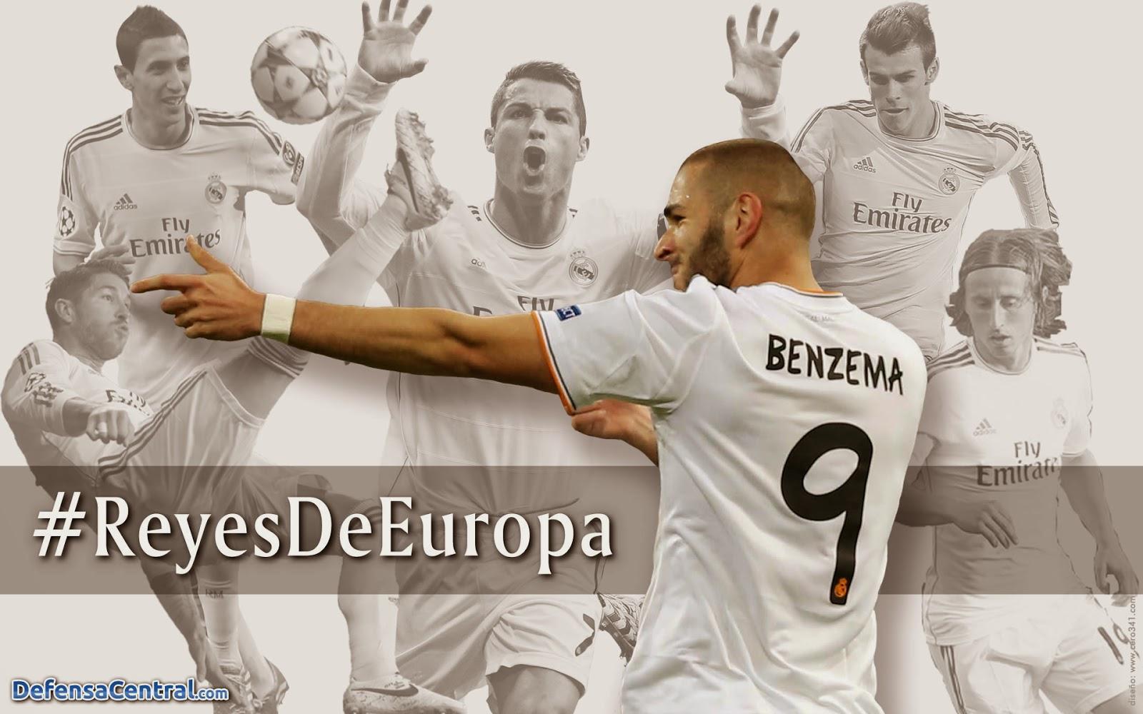 Real Madrid Reyes DE Europa Wallpaper HD 2014