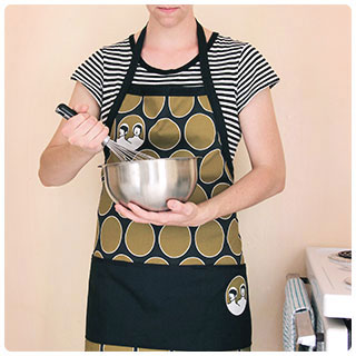 Last-Minute DIY Gifts: A handmade apron makes for a special & personalized gift!