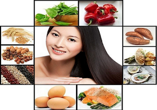 Foods for healthy and strong hair