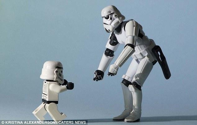 星際大戰 溫馨 帝國士兵 家庭
