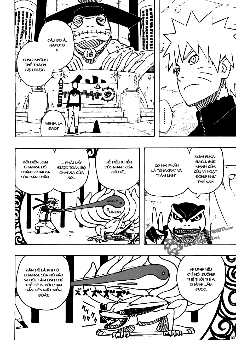 Naruto chap 490 Trang 10 - Mangak.info