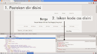 Belajar Cara Edit Template Blogger gambar 4