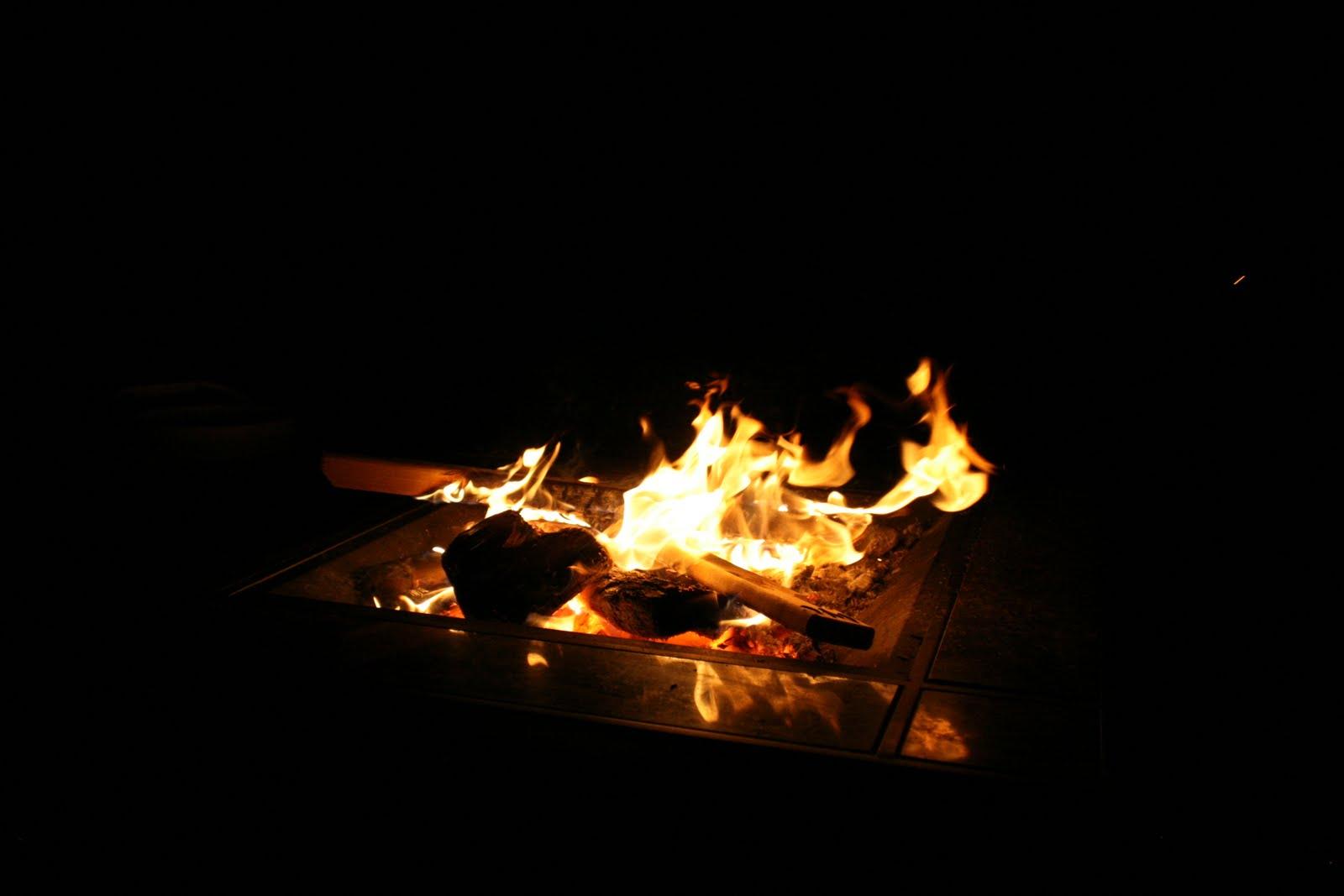 Awesome Backyard Fire