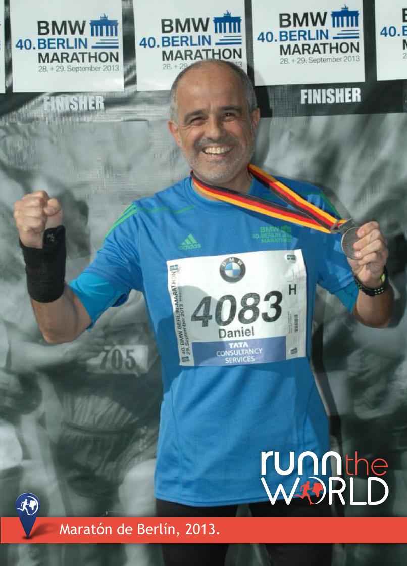 Daniel Arcucci Maratón Berlín 2013