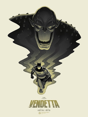 "Batman: The Animated Series ""Vendetta"" Screen Print by Phantom City Creative & Mondo"