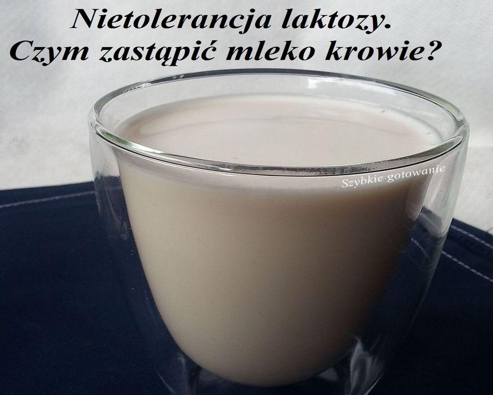 Nietolerancja laktozy - czym zastąpić mleko krowie? Inne źródła wapnia