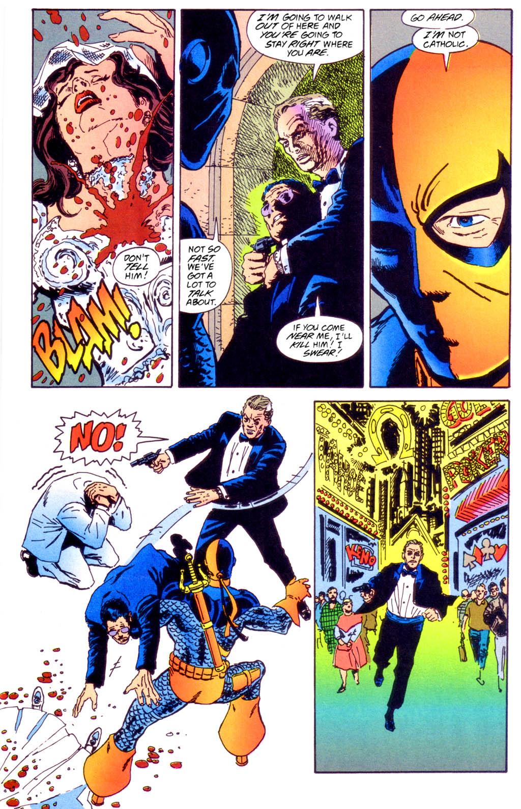 Deathstroke (1991) Issue #40 #45 - English 20