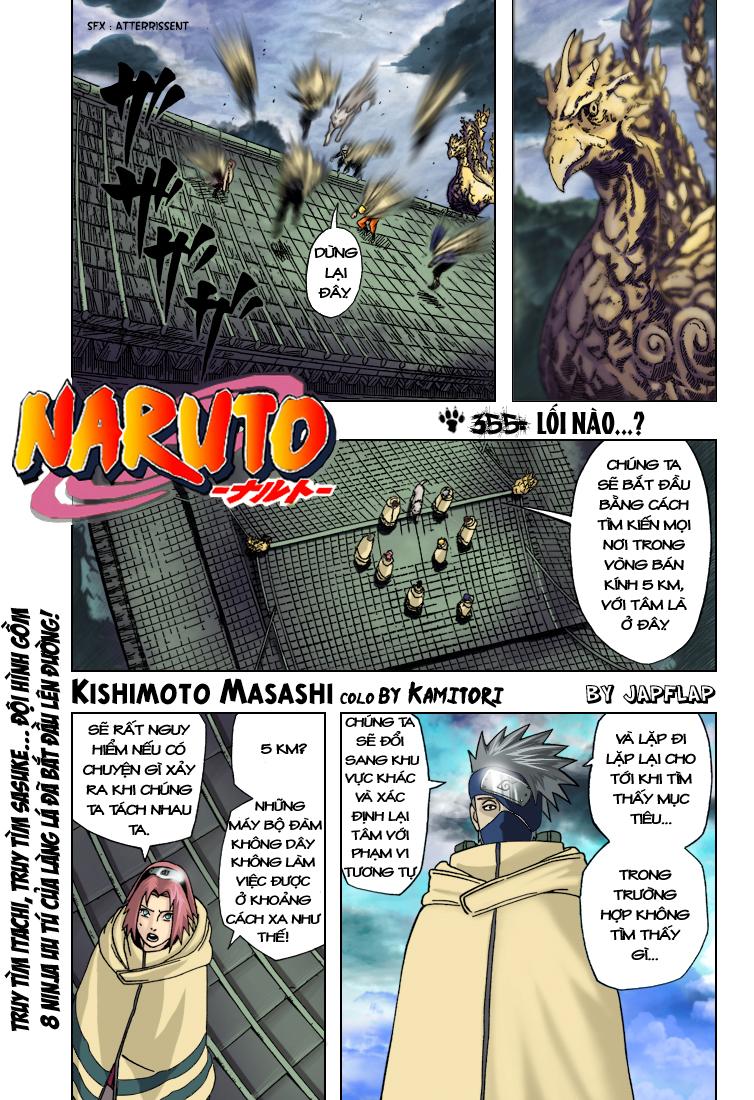 Naruto chap 355.Color Trang 1 - Mangak.info