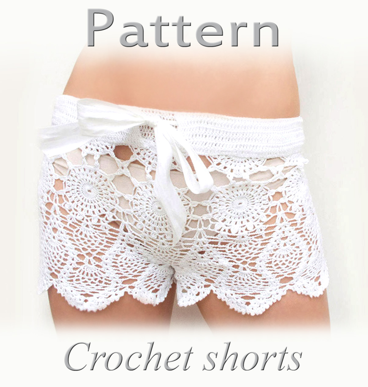 Free Crochet Pattern For Mens Shorts : Katrinshine: Pattern for crochet shorts