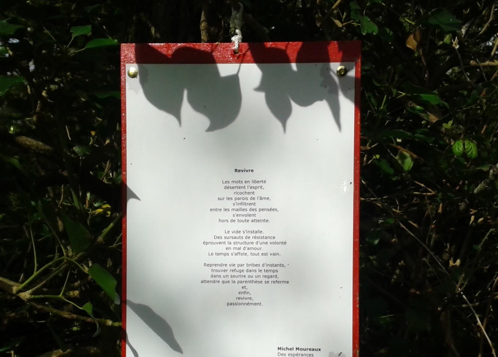 Michel Moureaux poème