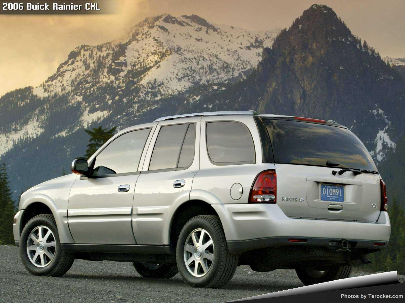 Hình ảnh xe ô tô Buick Rainier CXL 2006 & nội ngoại thất