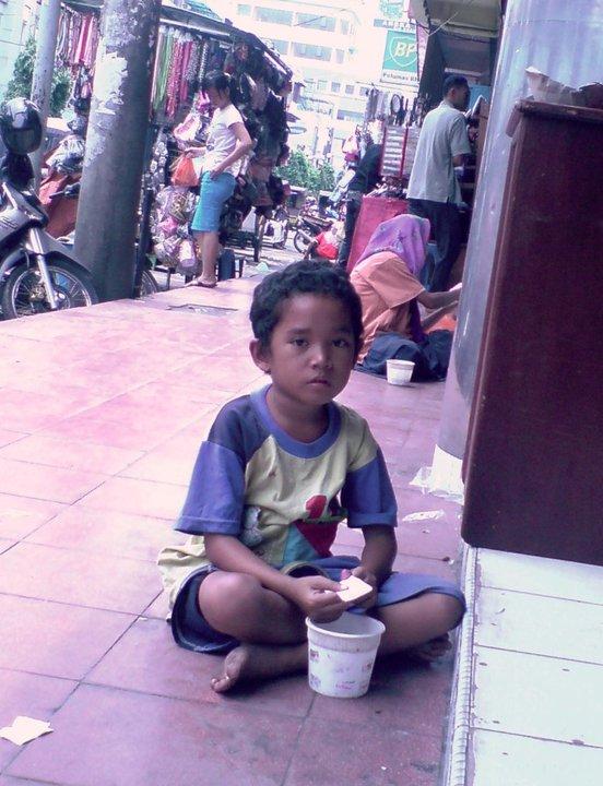 Potret anak jalanan