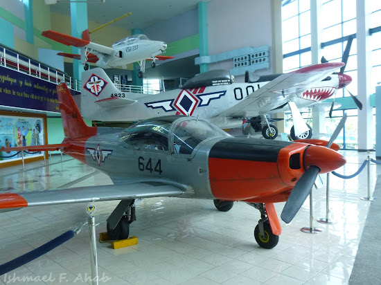 Warplanes on display in PAF Aerospace Museum