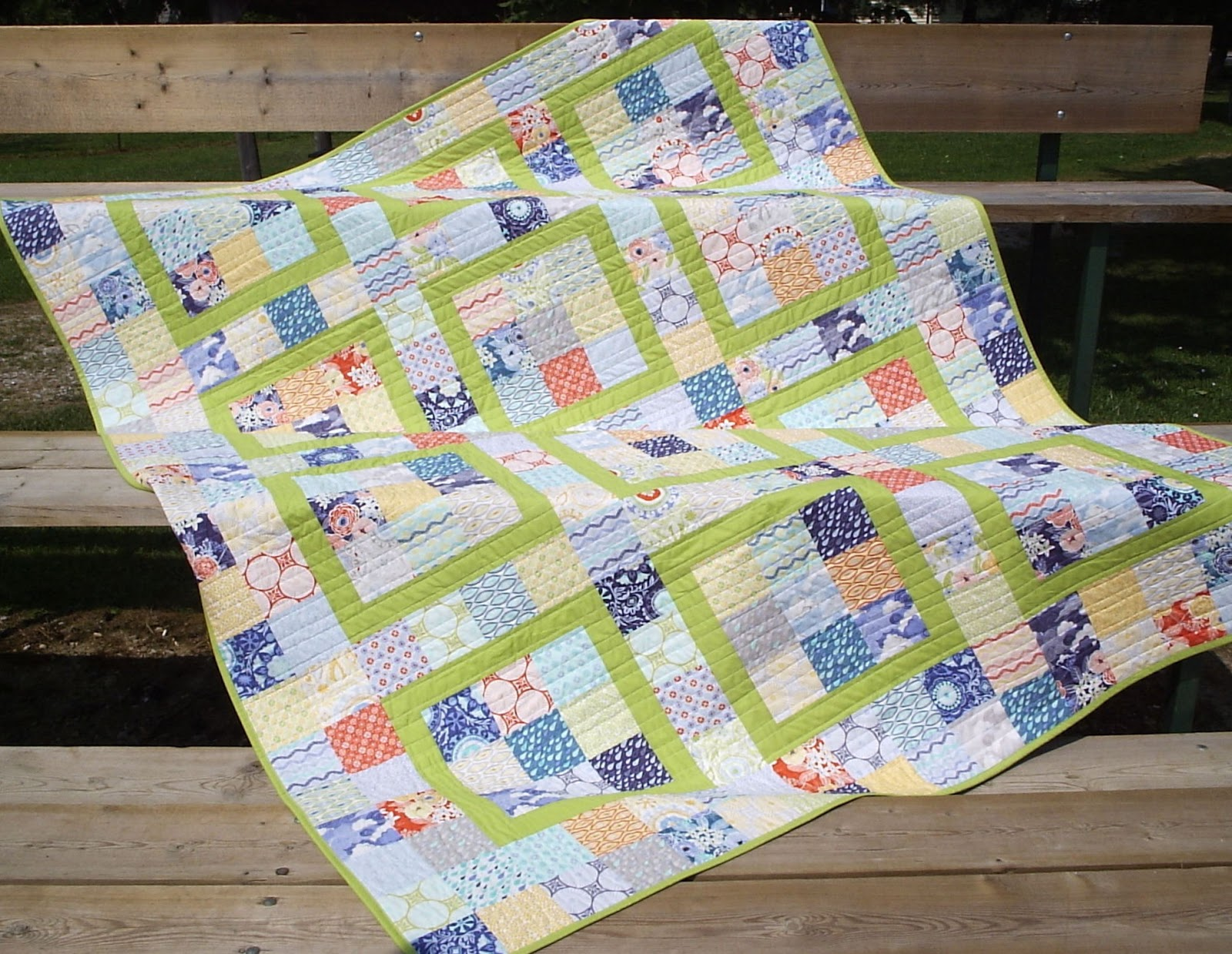 Sew Fresh Quilts: KYSS Me Quick! An Easy Quilt