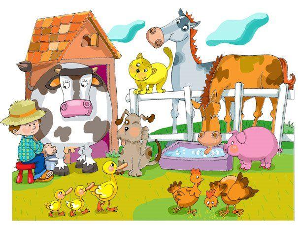 Proyecto: Los animales de la granja - Burbujitas