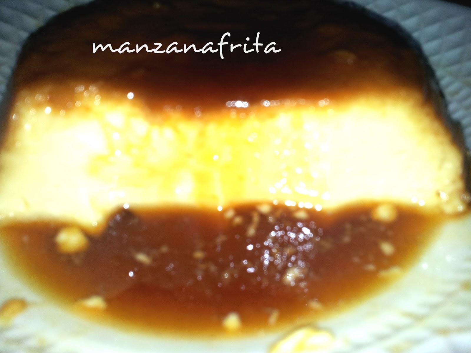 Manzanafrita flan de huevo - Flan de huevo al bano maria en olla express ...