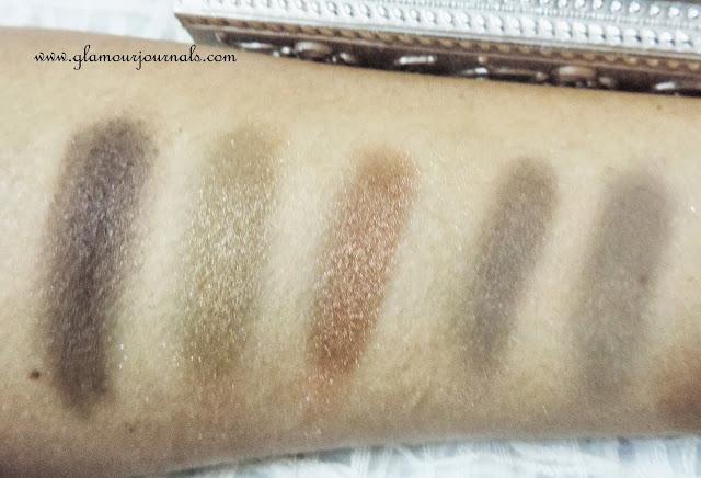 September Velvette Box & Beauty UK Eyeshadow Palette Swatches