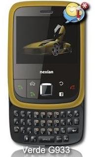 harga Nexian Verde  NX-G933a-9