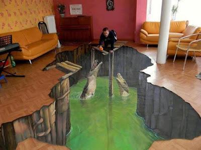 Плитка, которая превращает пол вашего дома в райский уголок