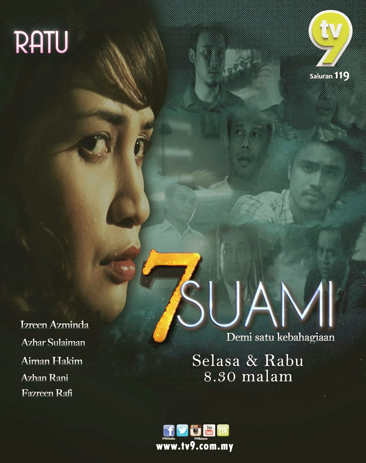 Tonton 7 Suami [2014] Full Episod 13- EPISOD AKHIR
