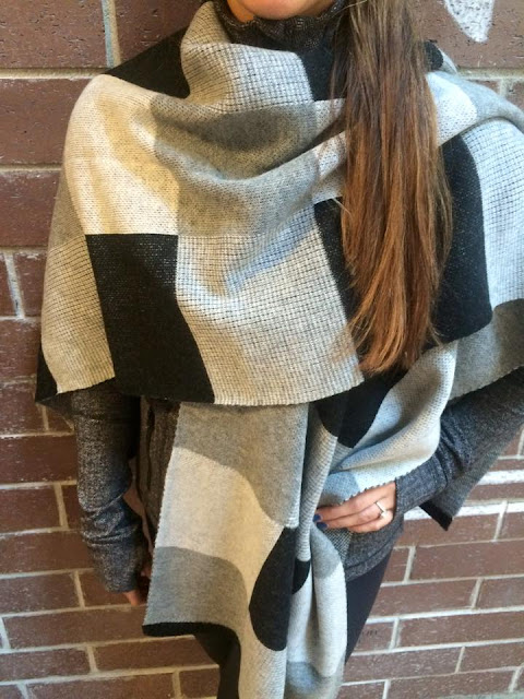 lululemon herrinbone-define bundle-up scarf