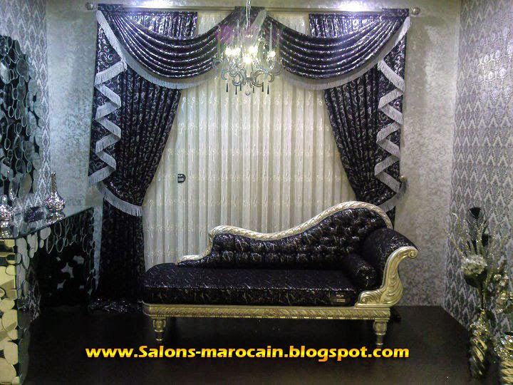boutique salon marocain 2018 2019 cache rideaux. Black Bedroom Furniture Sets. Home Design Ideas