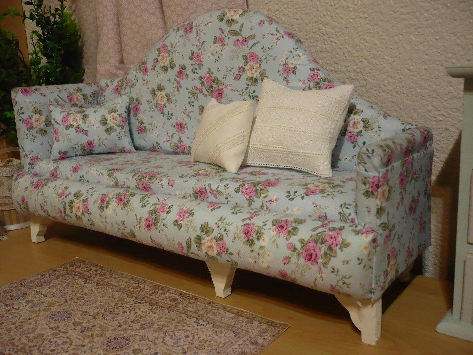 Muebles y complementos en escala 1 6 sofa escala 1 4 - Muebles y complementos ...