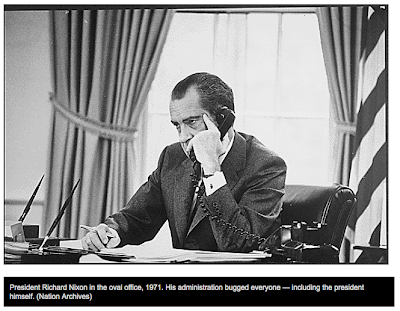 Kevin's Security Scrapbook: Eavesdropping History - NEW Nixon Bugs