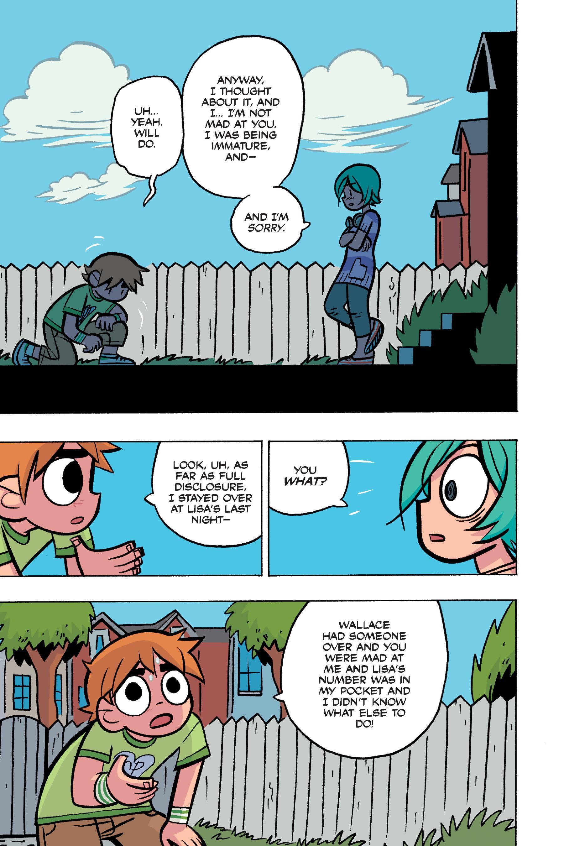 Read online Scott Pilgrim comic -  Issue #4 - 161