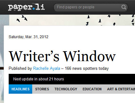 Paper writers online newspaper
