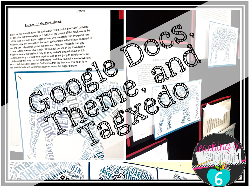 theme google docs and tagxedo teaching in room 6