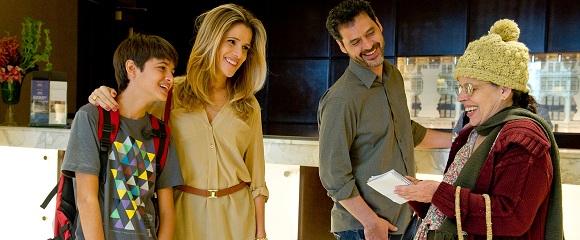 Eduardo Mello, Ingrid Guimarães, Bruno Garcia e Cristina Pereira em DE PERNAS PRO AR 2