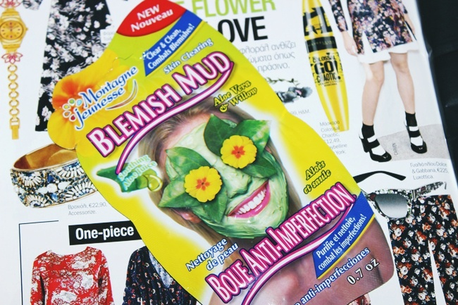 Montagne Jeunesse 7th Heaven Blemish Mud face mask with aloe vera and willow.Montagne Jeunesse maska za lice. Deep cleaning face mask.