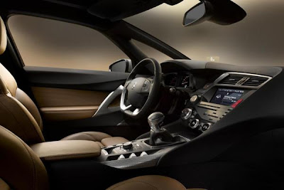 Interior design 2012 citroen ds5 hibryd.